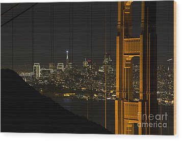 San Francisco Wood Print