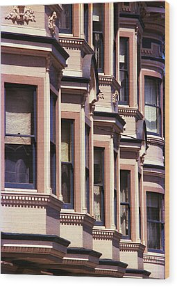 Wood Print featuring the photograph San Francisco Sunshine  by Ira Shander