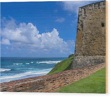 San Juan Puerto Rico  Wood Print