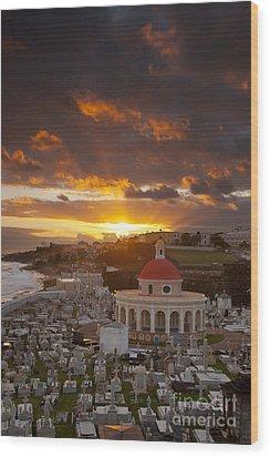 San Juan Sunrise Wood Print by Brian Jannsen
