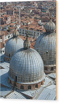 San Marco Basilica. Venice. Wood Print by Fernando Barozza