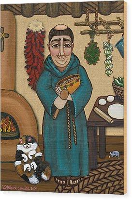 San Pascual Wood Print by Victoria De Almeida