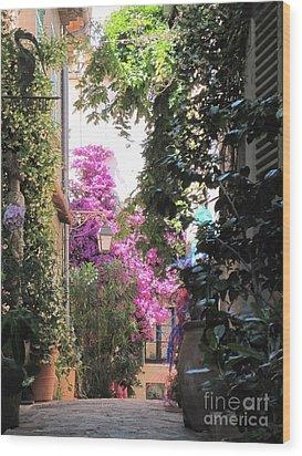 St Tropez Wood Print