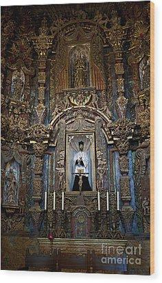 San Xavier Del Bac #13 Wood Print by Lee Craig