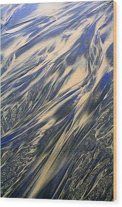 Sand And Sky Wood Print