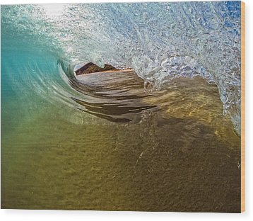 Sand Bar Room Wood Print by Brad Scott