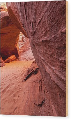Wood Print featuring the photograph Sand Dune Arch by Jay Stockhaus