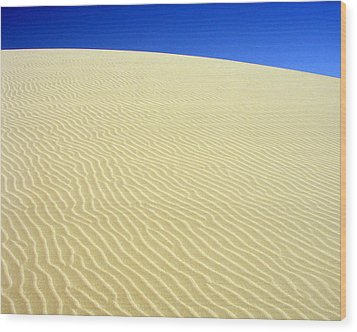 Wood Print featuring the photograph Sand Dune by Ramona Johnston