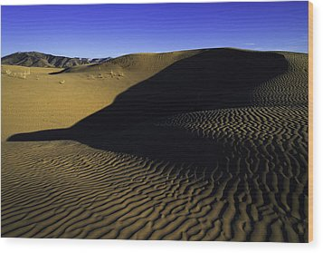 Sand Ripples Wood Print by Chad Dutson