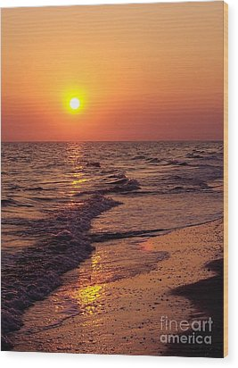 Wood Print featuring the photograph Sanibel Sunset by D Hackett