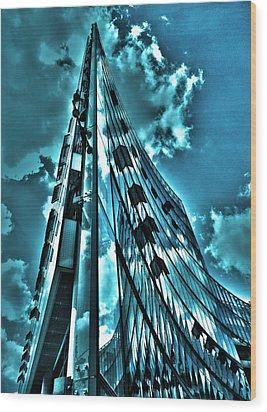 Sanofi Aventis - Berlin Wood Print by Juergen Weiss