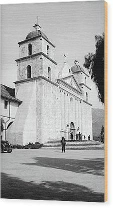 Wood Print featuring the painting Santa Barbara, 1936 by Granger