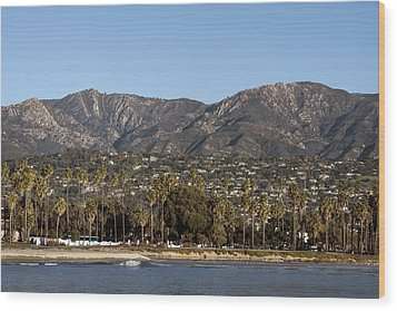 Santa Barbara Wood Print by Carol M Highsmith