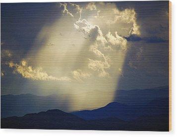 Santa Fe Sunset Wood Print
