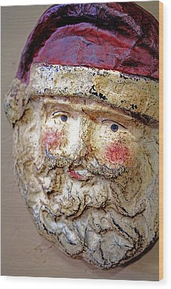 Wood Print featuring the photograph Santa by Lynn Sprowl