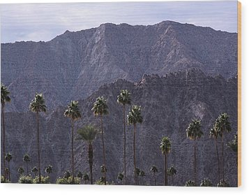 Santa Rosa Mountains Wood Print