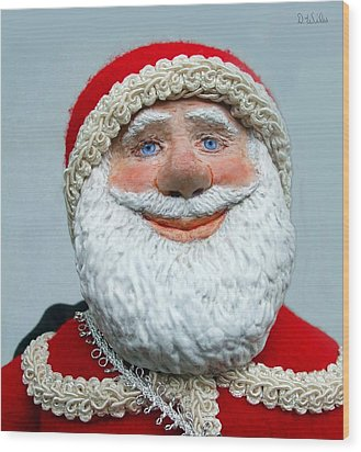 Santa's Big Day Wood Print
