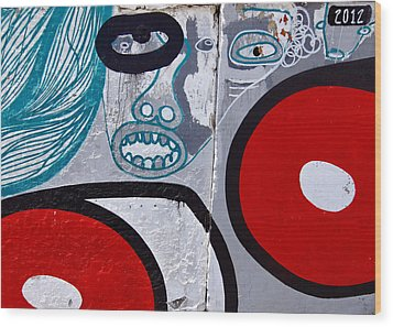 Sao Paulo Graffiti I Wood Print by Julie Niemela