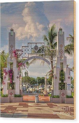 Sarasota Bayside Wood Print