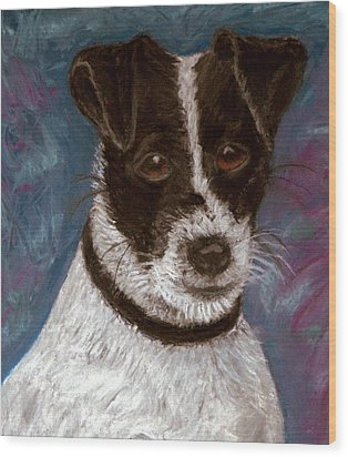 Sassy 2 Pastel Wood Print