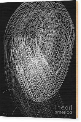 Satellite 2 Wood Print by Robert Riordan