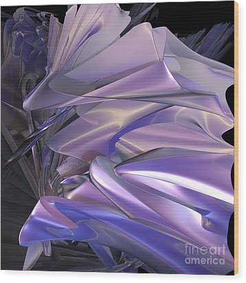 Satin Wing By Jammer Wood Print by First Star Art