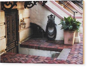Savannah Design Wood Print by John Rizzuto