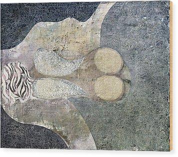 Savannah Wood Print by Johnny Johnston