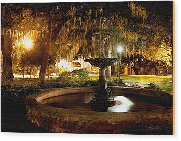 Savannah Romance Wood Print