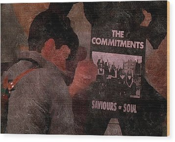 Saviours Of Soul Wood Print
