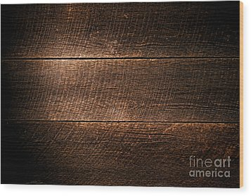 Saw Marks On Wood Wood Print by Olivier Le Queinec