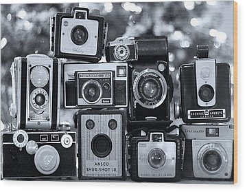 Wood Print featuring the photograph Say Cheese by Elizabeth Budd