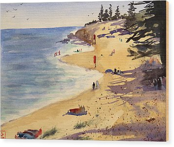 Scarborough Beach Wood Print