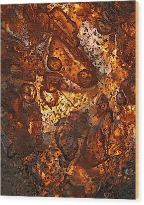 Scattering Wood Print