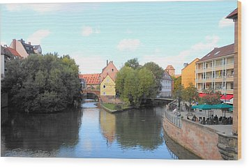 Wood Print featuring the photograph Scenic Nuremberg by Kay Gilley