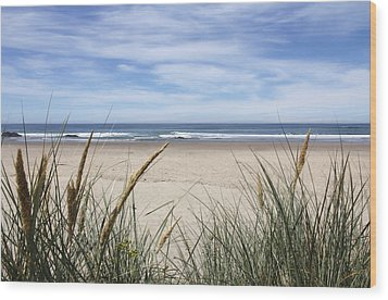 Scenic Oceanview Wood Print