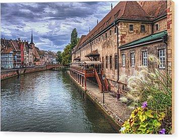 Scenic Strasbourg  Wood Print by Carol Japp