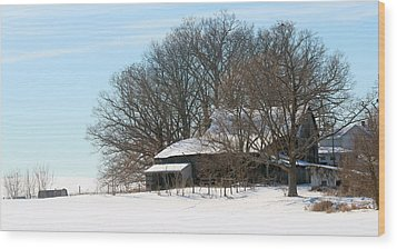 Scenic Wayne County Ohio Wood Print