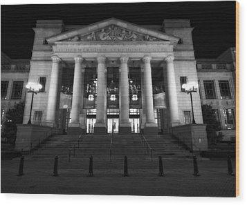 Schermerhorn Symphony Center In Nashville Wood Print by Dan Sproul