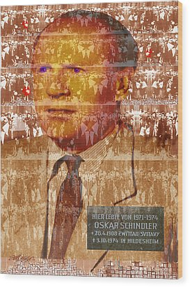 Schindlerjuden Wood Print by Seth Weaver