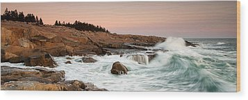 Schoodic Point - Acadia National Park Wood Print