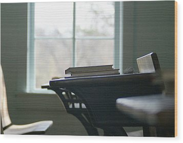 School Days Wood Print by Mary Ely