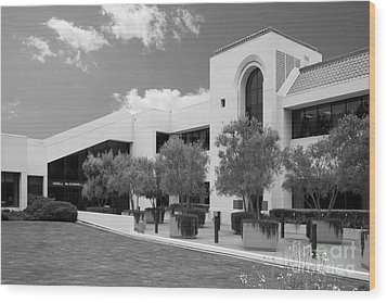 School Of Law Pepperdine University Wood Print by University Icons