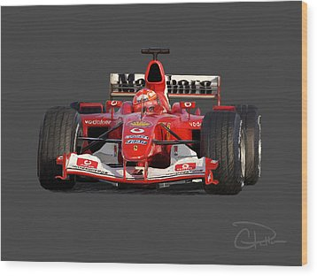 Schumacher Ferrari F2004 Digital Art By Charley Pallos