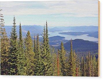 Schweitzer Mountain 7 Wood Print