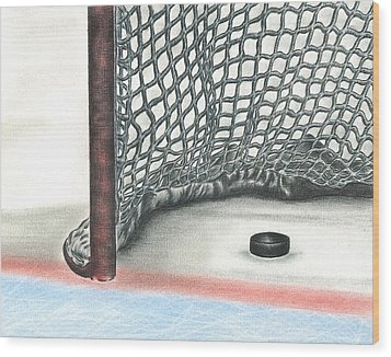 Score Wood Print by Troy Levesque