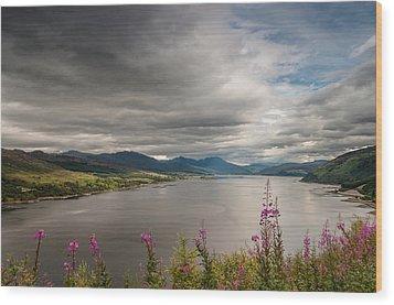 Scotland's Landscape Wood Print by Sergey Simanovsky