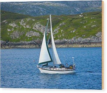 Scottish Sails Wood Print