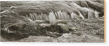 Wood Print featuring the photograph Scottish Water by Juergen Klust