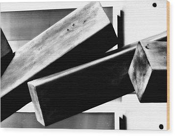 Sculpture Wood Print by Tara Miller